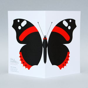 Image of Red Admiral card
