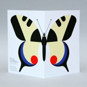 Image of Swallowtail card