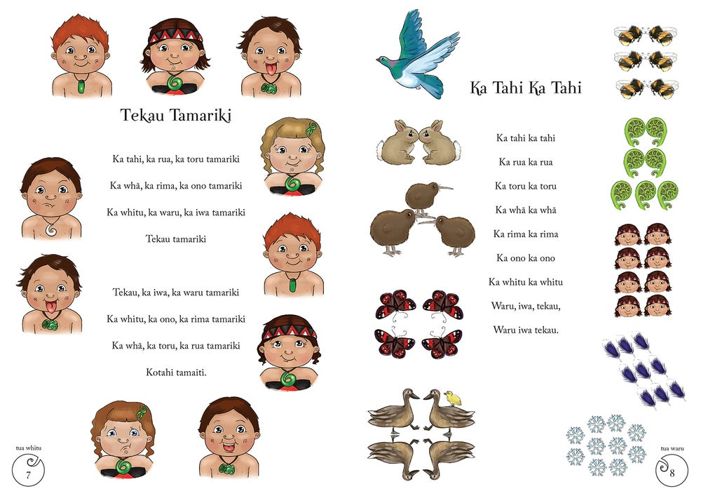 Image of Waiata Mai // Book + Audio CD