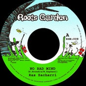 "Image of 7"" Ras Zacharri 'No Bad Mind' / Manasseh 'A Striving Version'"