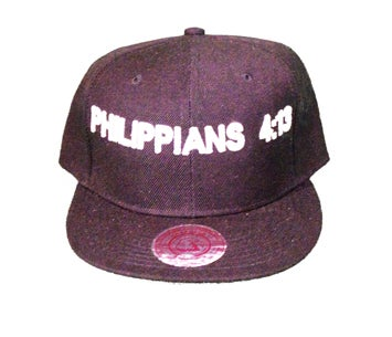 Image of PHILLIPIANS 4:13 SNAPBACK