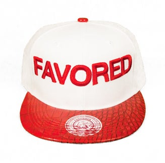 Image of FAVORED SNAPBACK WHITE/RED
