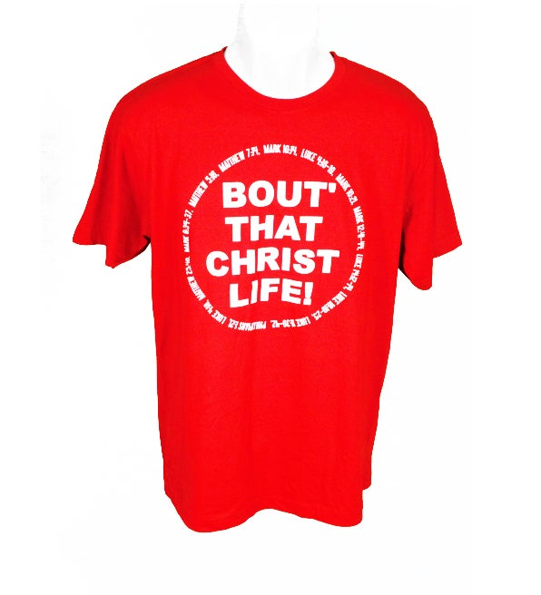 Image of SOLD OUT BOUT' THAT CHRIST LIFE (MEN'S)