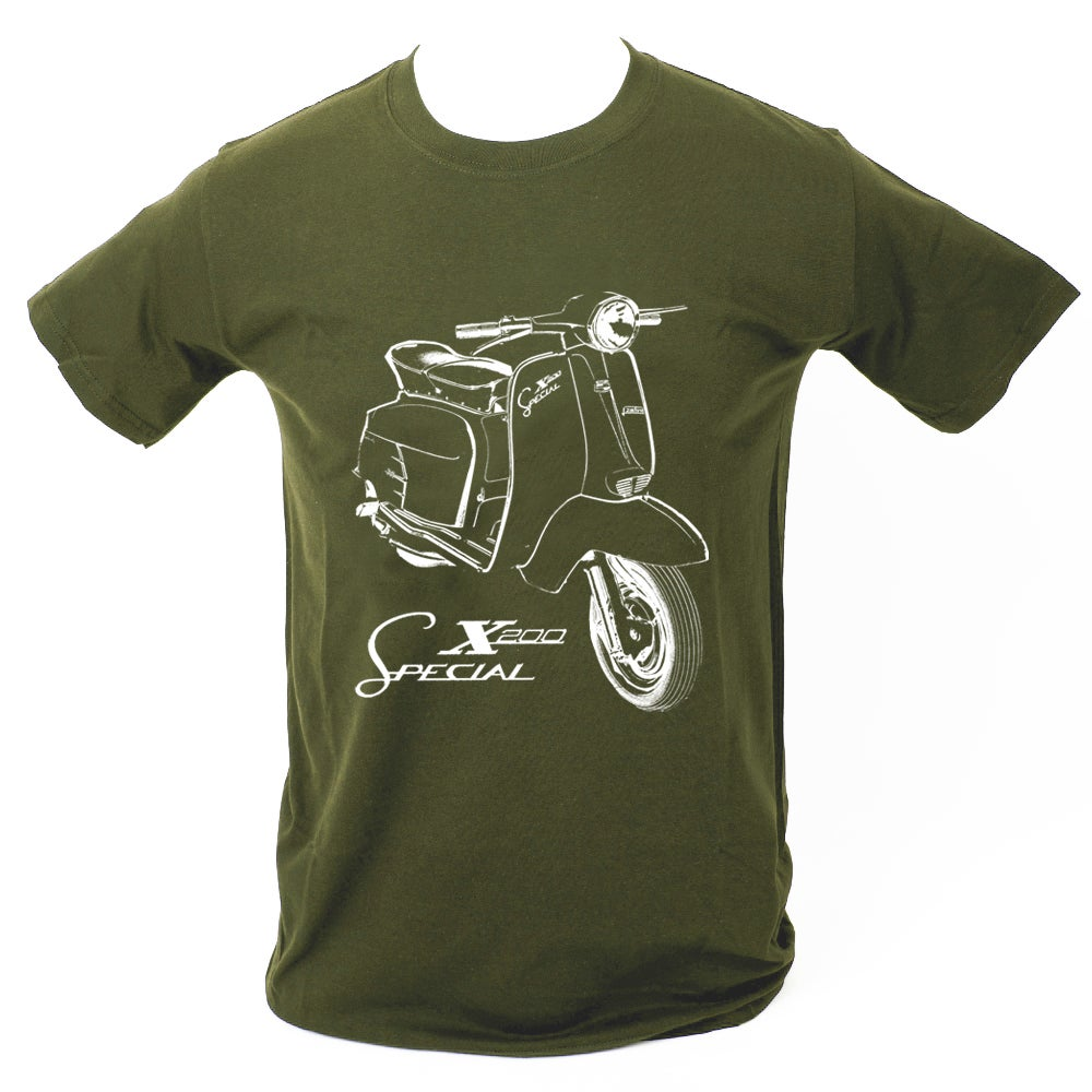 Image of SX200 T-SHIRT MILITARY GREEN