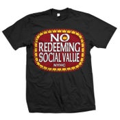 "Image of NO REDEEMING SOCIAL VALUE ""Olde E"" Logo T-Shirt"