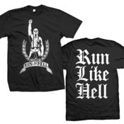 "Image of RUN LIKE HELL ""Logo Guy"" T-Shirt"