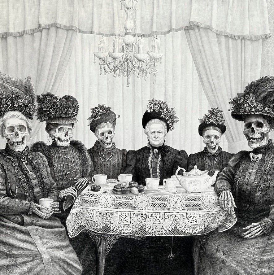 Image of Laurie Lipton: Bone China Print