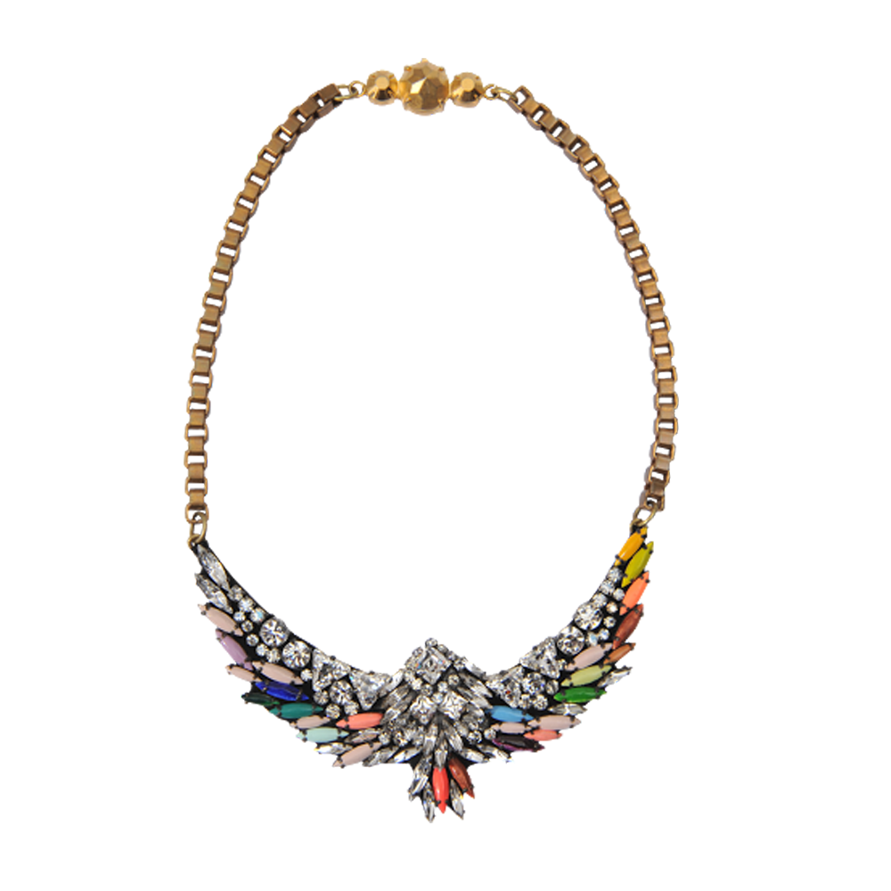 Collier Harlow Bird Jumble - Shourouk EN STOCK