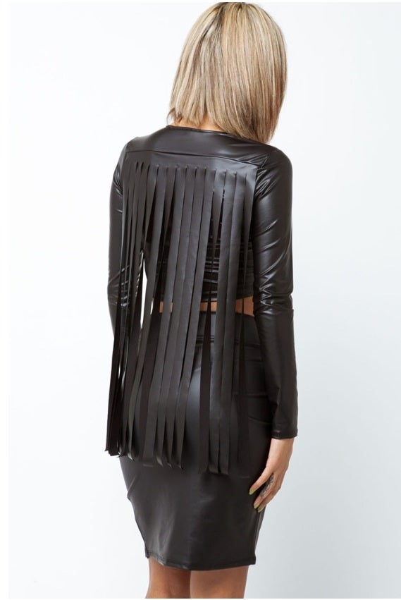 Image of Fringe Crop Top