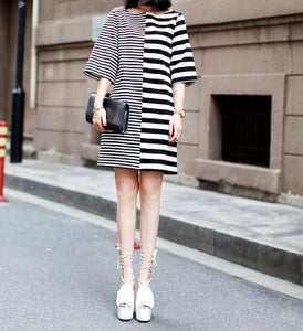 Image of 66. Zebra Crossing Dress