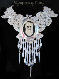 Image of 'Gothic Princess' feature necklace