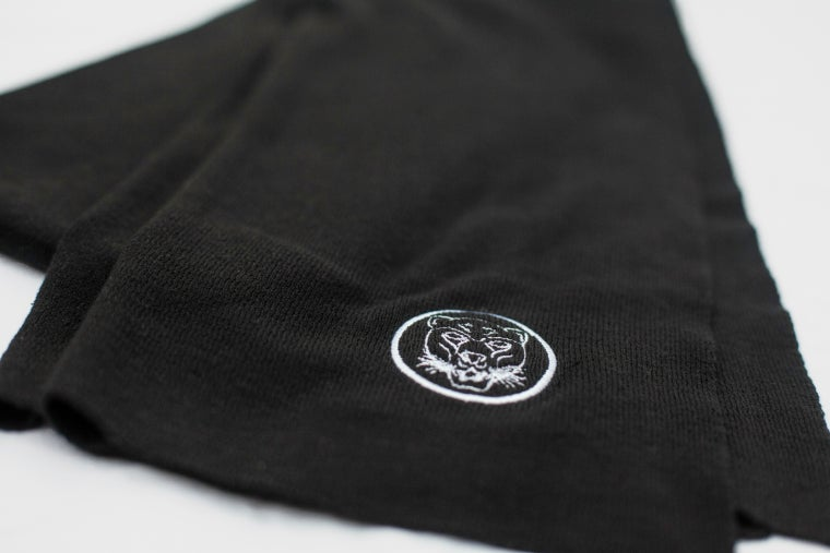 Image of Black Cashmere Scarf