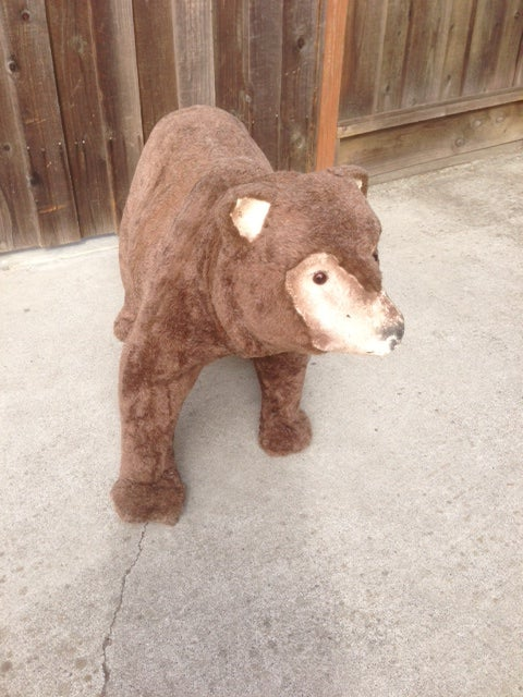 Image of Electric Animatronic Robotic Android Brown Bear