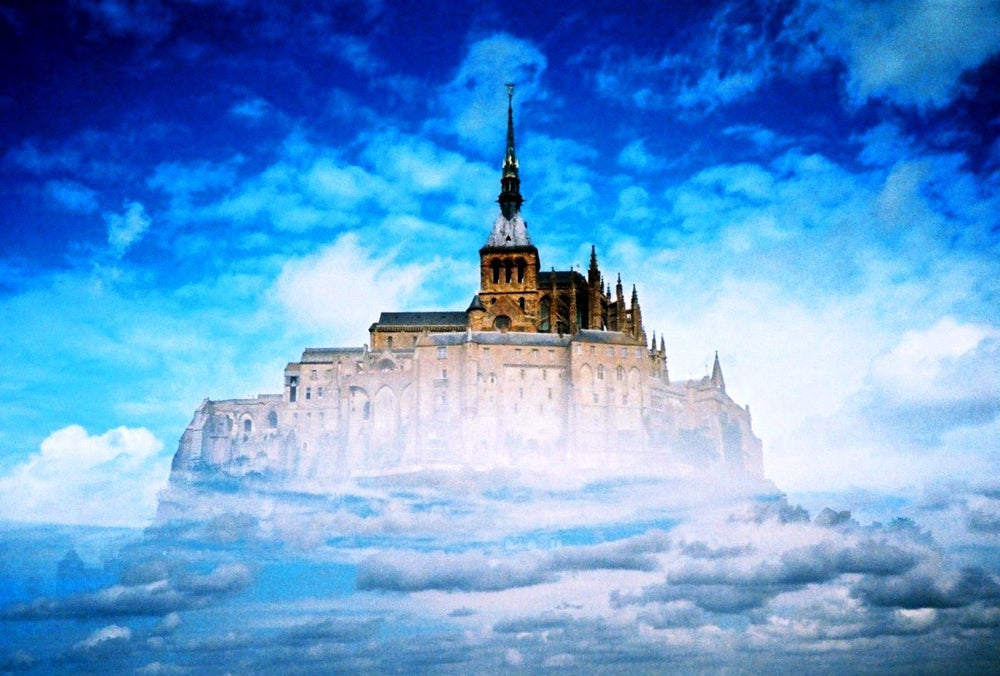 "Image of ""castle in the sky"" limited edition print"