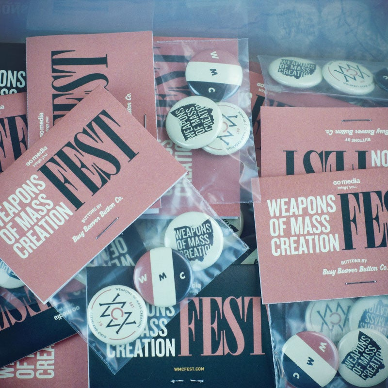 Image of WMC Fest Button Pack