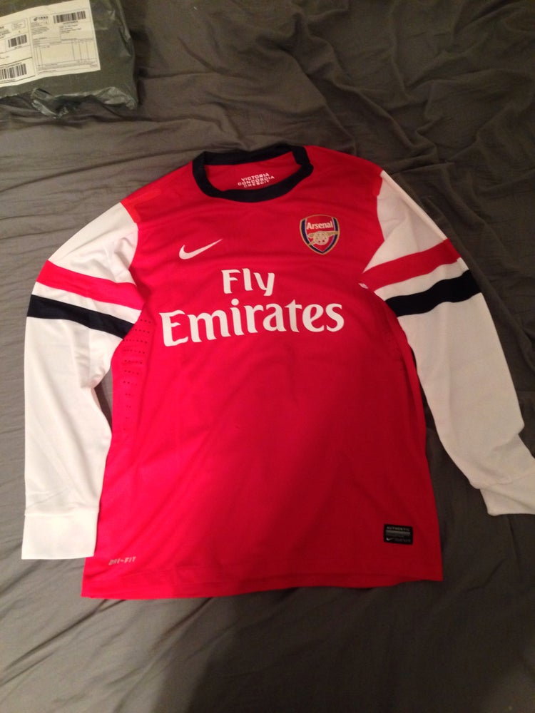 size 40 802b5 e6885 Arsenal Ramsey jersey-medium