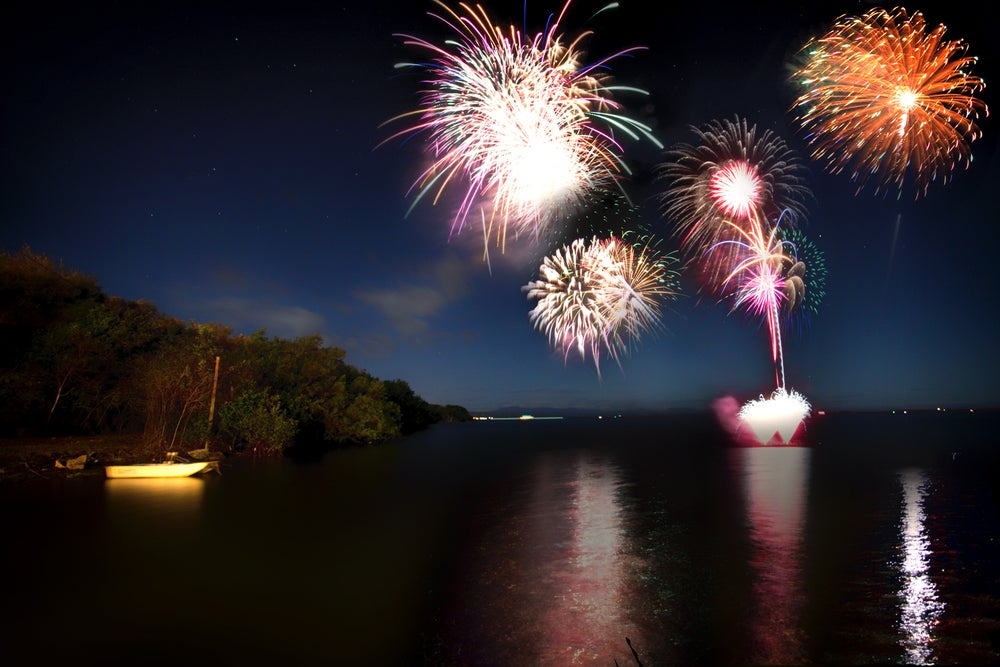 Image of FIREWORKS OVER GUANTANAMO