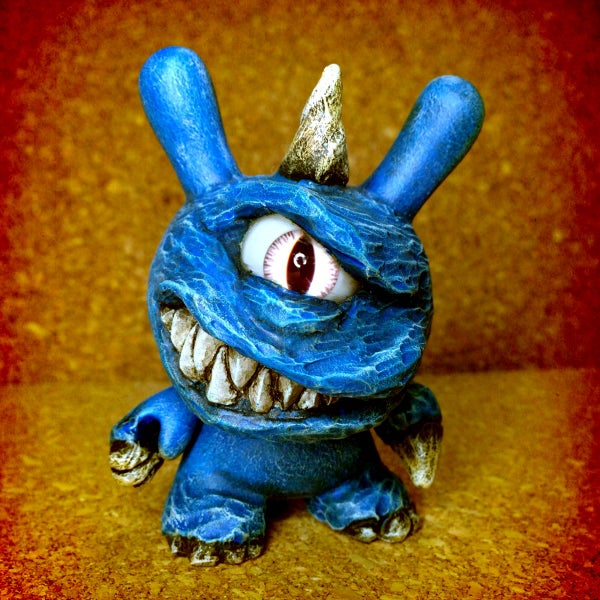 Image of Blue kaiju Dunny - soldout