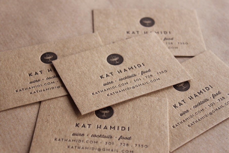 Letterpress business cards and wedding invitations maple tea image of letterpress business cards recycled made to order set of 200 colourmoves