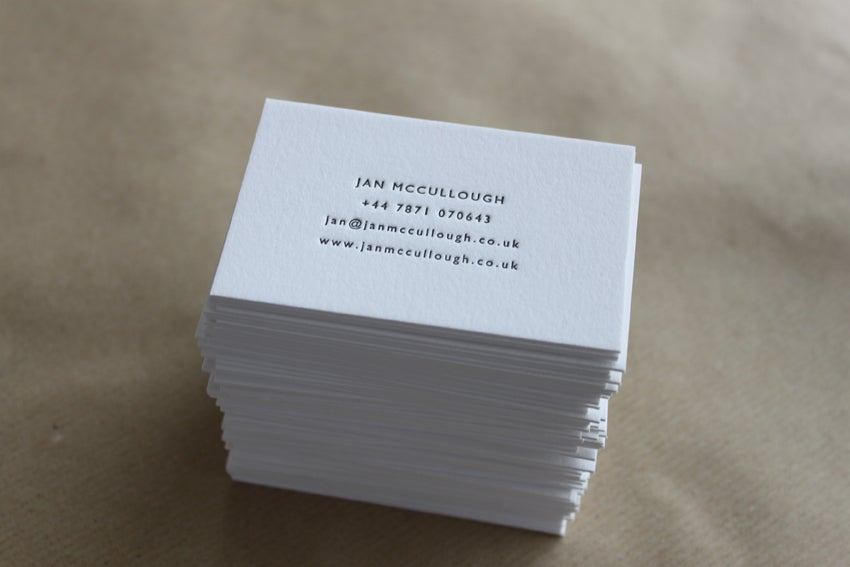 Letterpress Business Cards and Wedding Invitations | Maple Tea