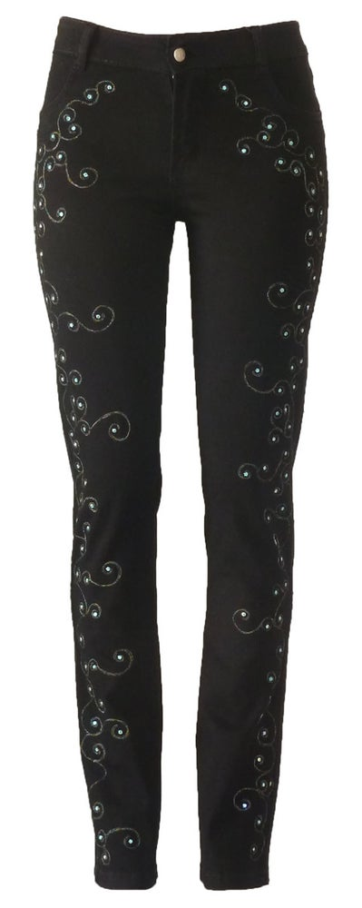 Image of Cornellly Swirled Jeans 13W135P