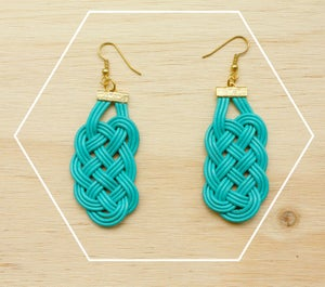 Image of Prosperity Knot earrings