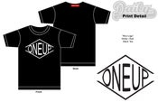 "Image of ""ONEUP Logo"" Tee"