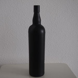 Black Chalkboarded Bottle