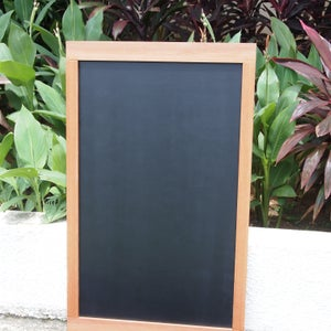 Big Chalkboard with Broad and Narrow Border