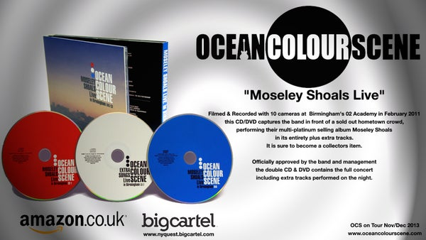 "Image of Ocean Colour Scene ""Moseley Shoals Live"" Limited Edition CD/DVD"