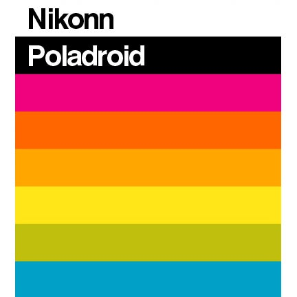 "Image of NIKONN ""Poladroid SX-70 Edition"" CD album"