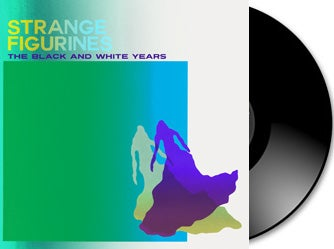 Image of The Black and White Years - Strange Figurines Vinyl + Download Card