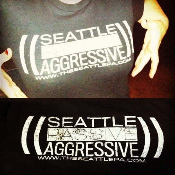 Image of Seattle Passive Aggressive T-Shirt