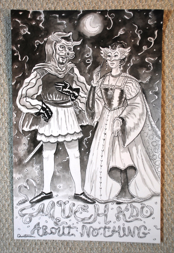 Image of Much Ado About Nothing ORIGINAL painting