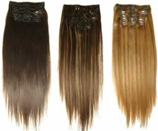 Image of Clip-Ins Platinum - 7 piece set