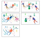 Image of Christmas Skate Cards