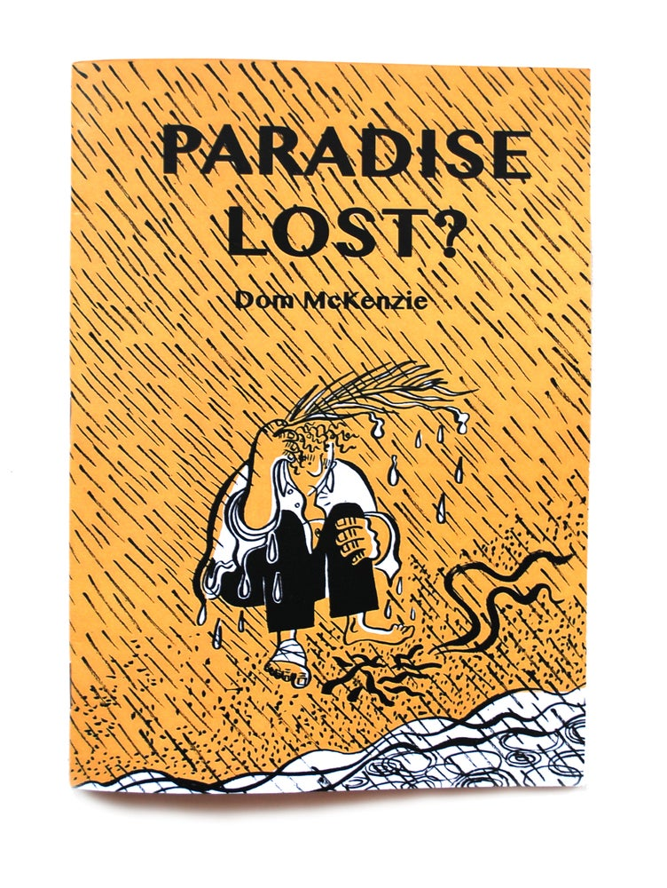 Image of 'Paradise Lost?' Handmade Book