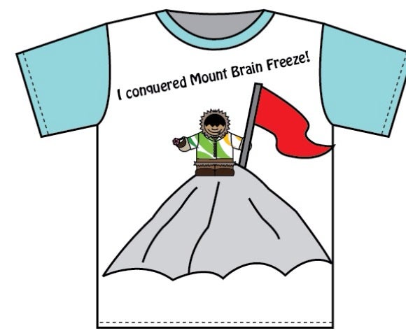 Image of Mt. Brain Freeze Tee