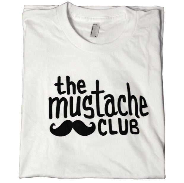 Image of The Mustache Club OG Tee (White)