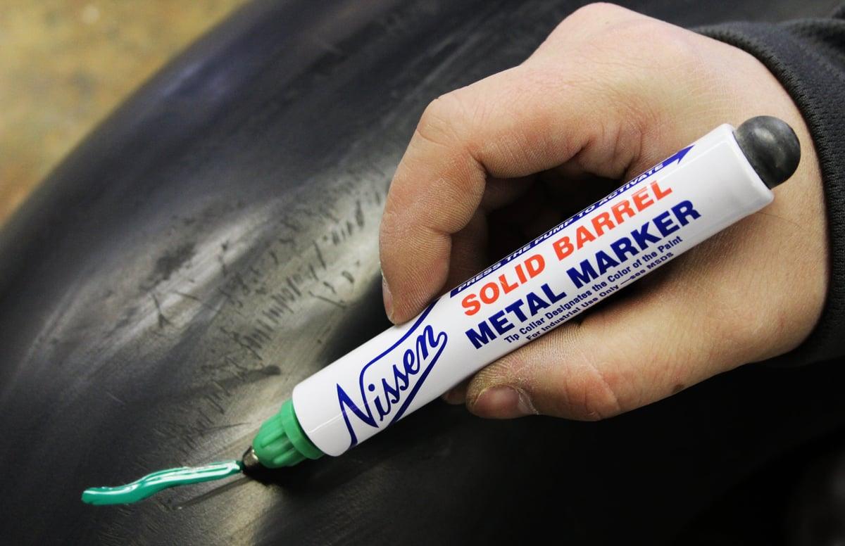 Pump Activated Metal Tip Paint Pen 1 8 Quot Tip Dhtb
