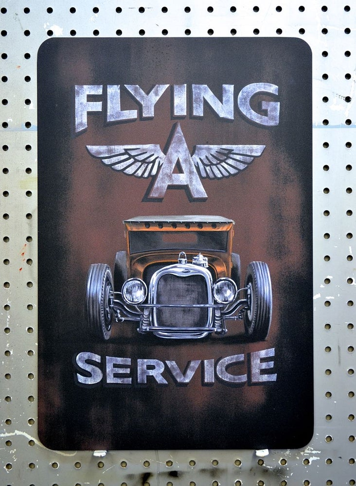 Image of Flying A Service / Metal Print
