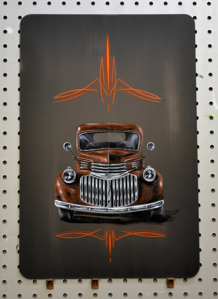 Image of 46 Chevy Truck / Metal Print