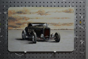 Image of Salt Flats Racer / Metal Print