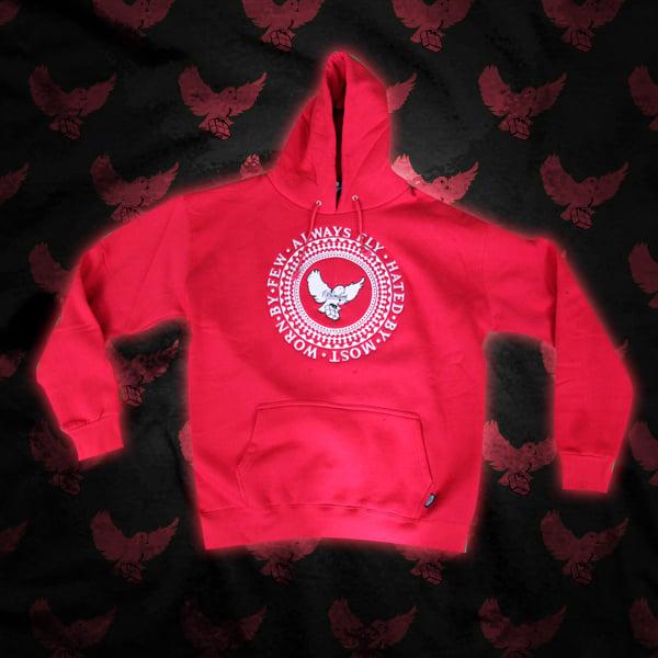 Image of Red/White Birdies Crest Logo