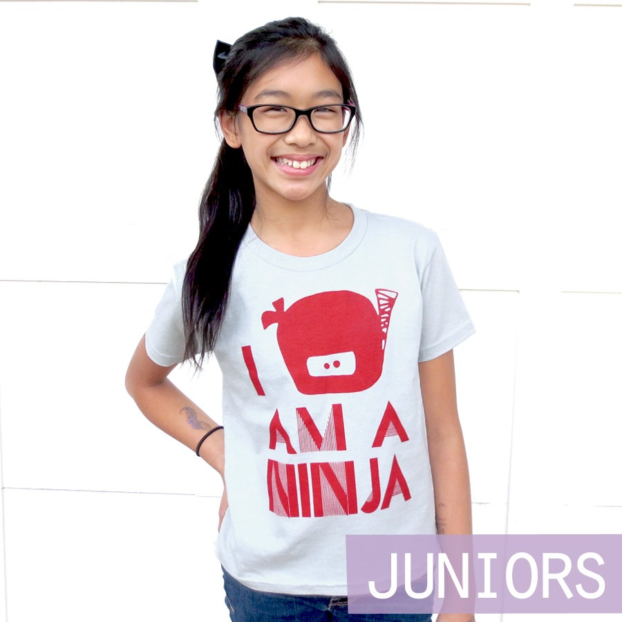 "Image of ""I Am A Ninja"" Junior Tee"