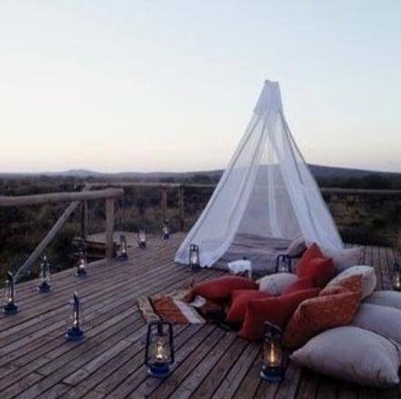 Image of Free Standing Pyramid Mosquito Net