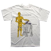 Image of c3po and r2d2 - tshirt