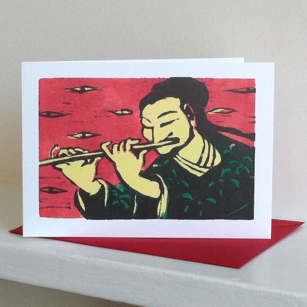 Image of Flute Player