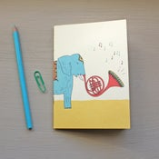 Image of Elephant pocket notebook