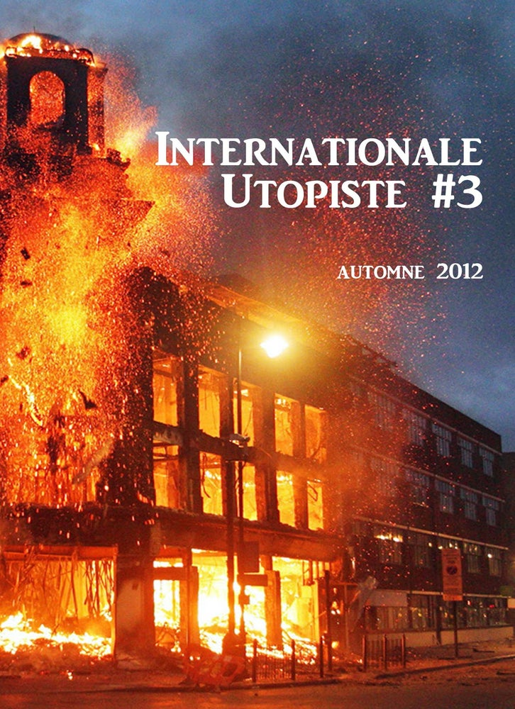Image of INTERNATIONALE UTOPISTE #3